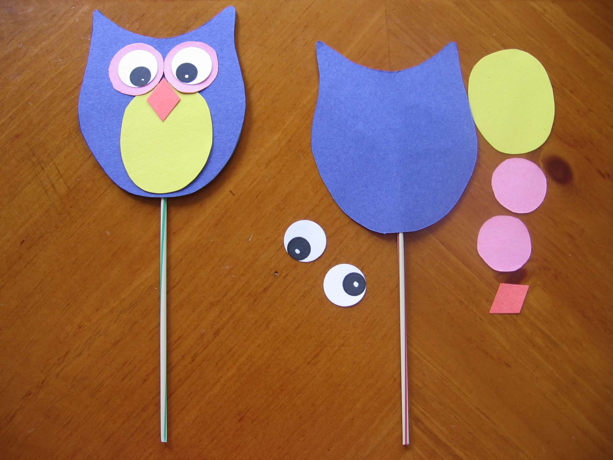 Owl Craft Recipes For Reading