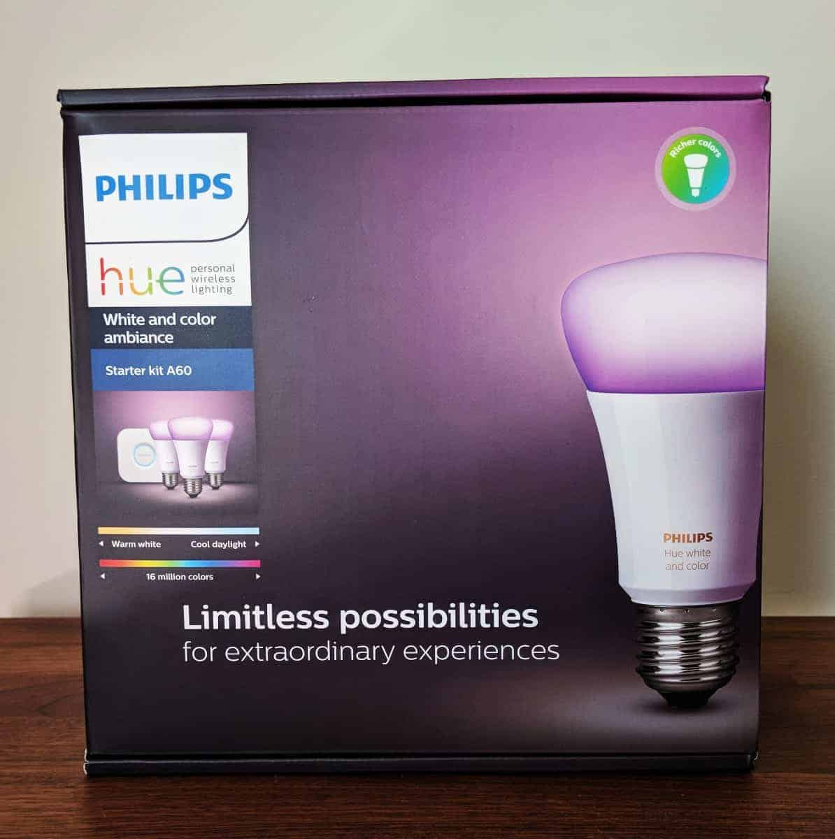 Philips Hue Included Philips Hue Smart Lighting Review The Streaming Blog