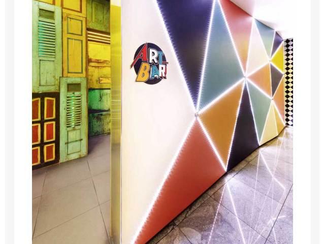 Art Bar as featured in Restaurant & Bar Design website
