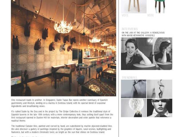 Sabio By The Sea as featured in Lancia Trend Visions website