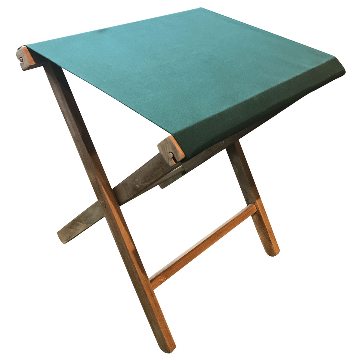 Portable Stool Dark Green Folding Stool Portable Folding Stool With Dark Green Seat