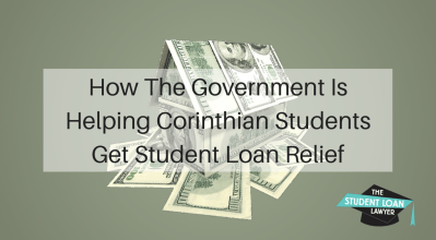How the Government is Helping Corinthian Students Get Loan Debt Relief