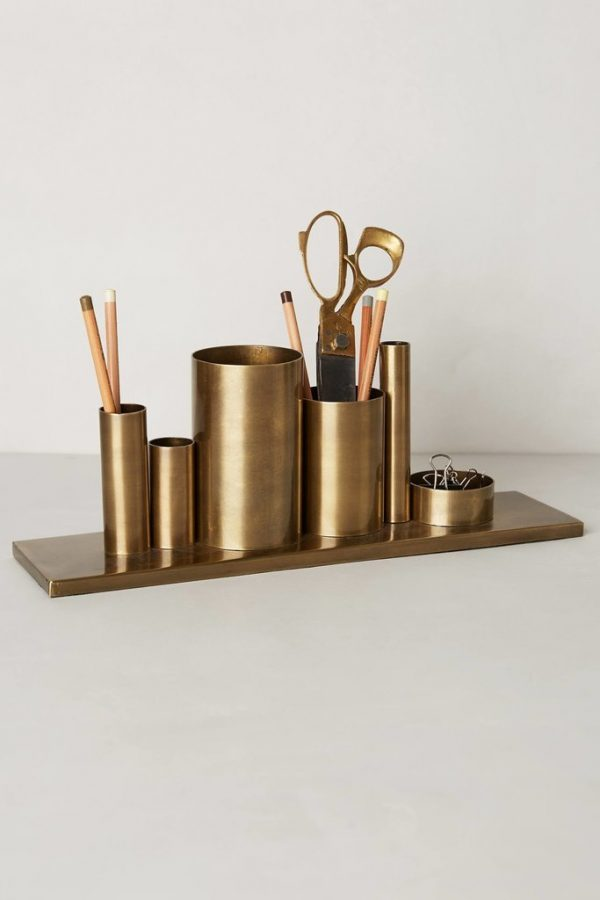Gouden Accessoires A Touch Of Gold. Gouden Accessoires Op Kantoor - Thestylebox