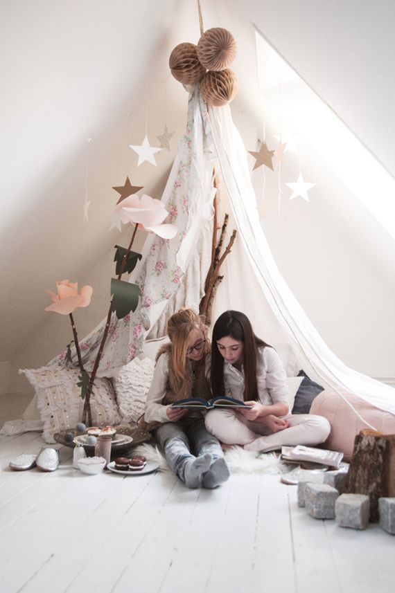Tipi Bauen Tipi In De Kinderkamer - Thestylebox