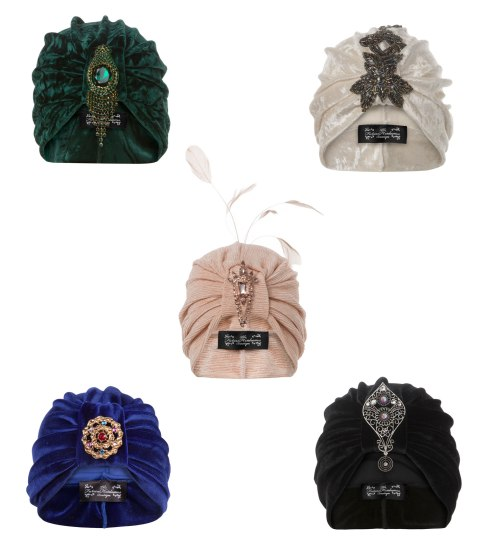 Turbans from The Future Heirloom Boutique