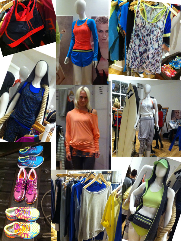 Sweaty Betty SS14 collection