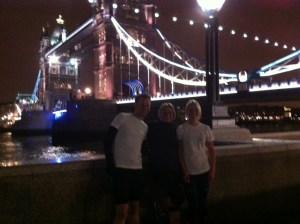 Just another run along the Thames
