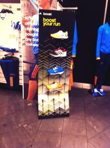 Oh, fancy pants footwear at Silverstone