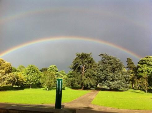 Rainbow at Kew