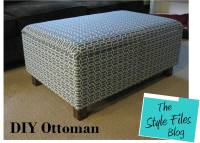 DIY Ottoman (Featured on Tiny House Nation!) - The Style Files