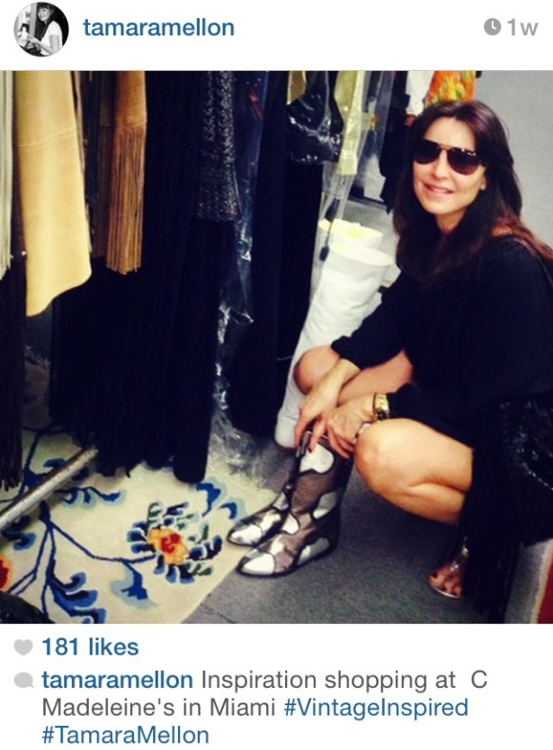 Tamara Mellon, the co-founder of Jimmy Choo, recently visited C. Madeline's for inspiration.