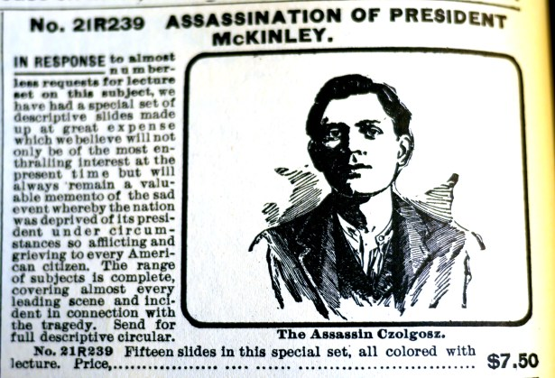 Bestseller: A slideshow about the McKinley assassination.