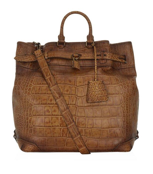 Burberry Alligator Travel Bag