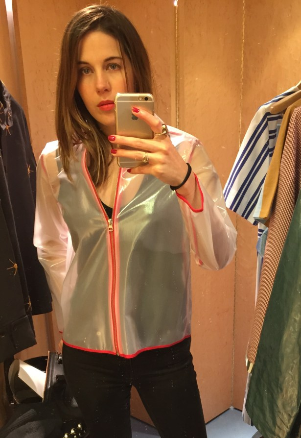 Clear Plastic Jacket, $378