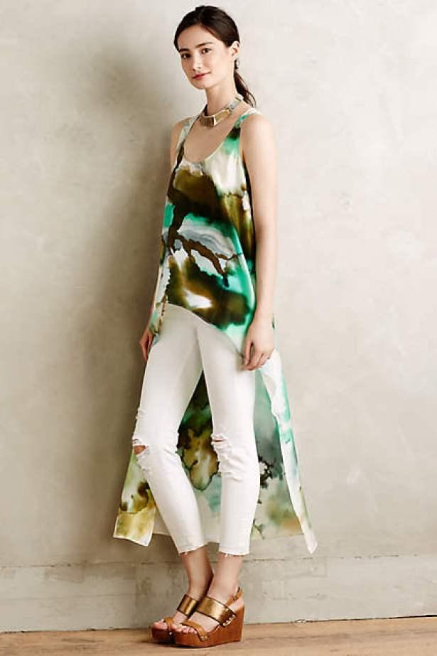 Arbor Silk Tunic, $198