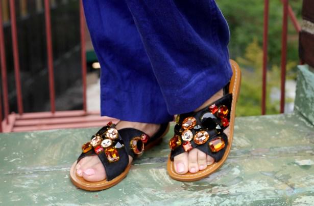 Calf-Hair Sandals: Marni