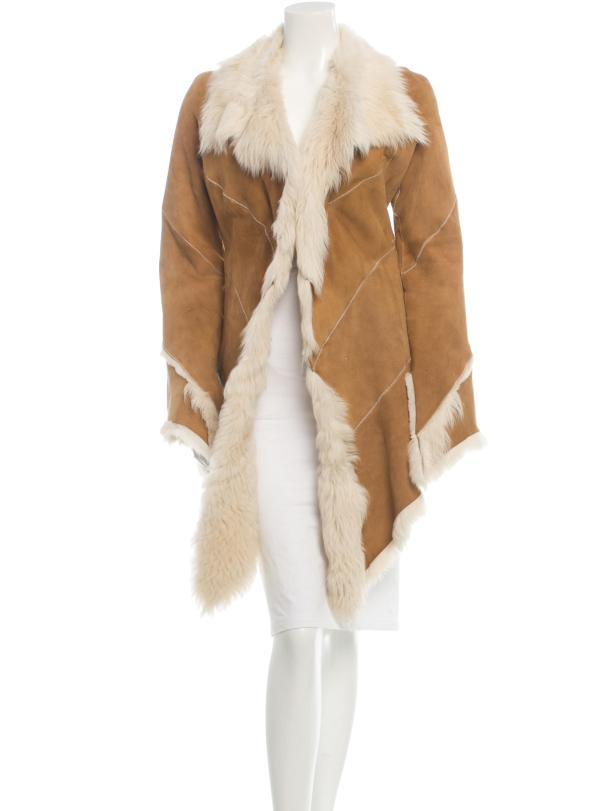 Roberto Cavalli Shearling Coat, $785 ($628 if you use the discount code COOL at checkout)