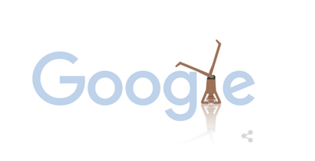 On Monday, it Google celebrated what would have been the 97th birthday of master yogi BKS Iyengar (my husband's great uncle)