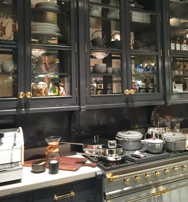 The Goop store's kitchenware section felt like a real home.