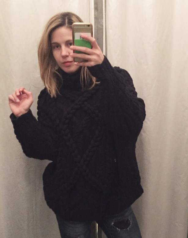 This sweater is nearly $2,000. (I know.)
