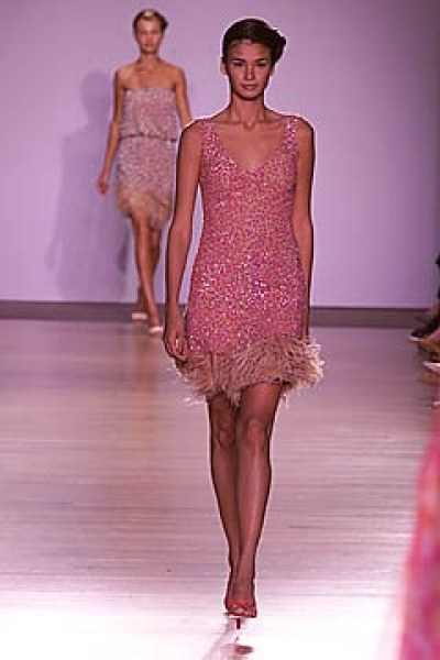 A look from Tuleh's Spring 2001 Ready-to-Wear show.