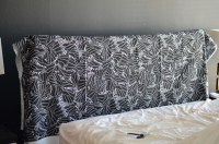 DIY Fabric Covered Headboard  theStyleSafari