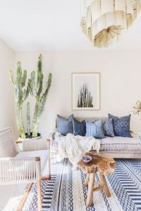 Interior Design Plan: Modern Bohemian Living Room ...