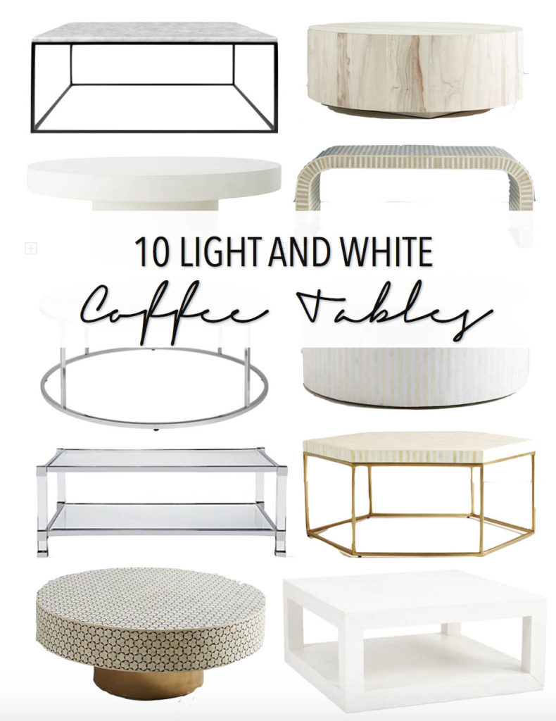 Large Of White Coffee Table