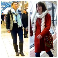 How to Wear a Thick Winter Scarf - theSTYLEtti.com