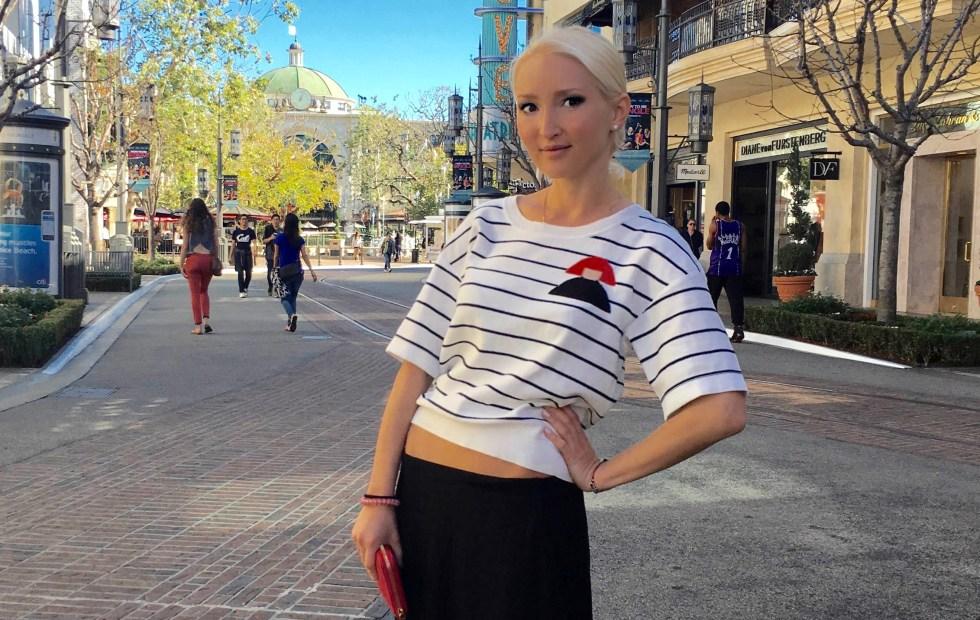 Liliya Anisimova in LA