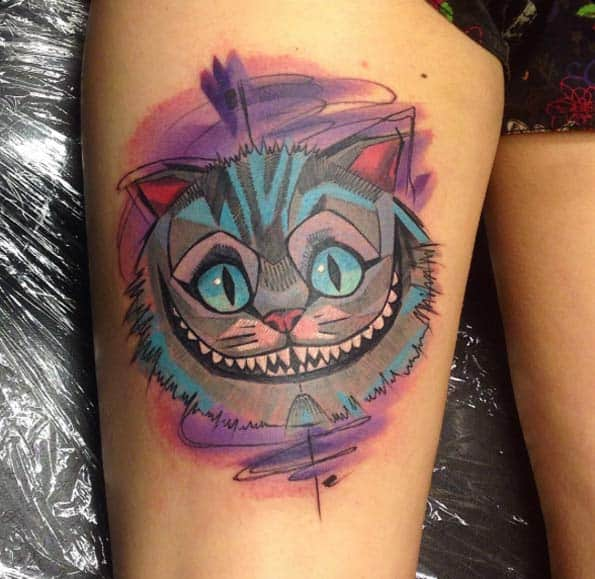 Grinsekatze Alice Im Wunderland 150+ Charming Alice In Wonderland Tattoos (june2020)