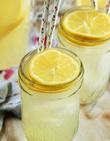 Classic Lemonade Recipe from Scratch - The Suburban Soapbox