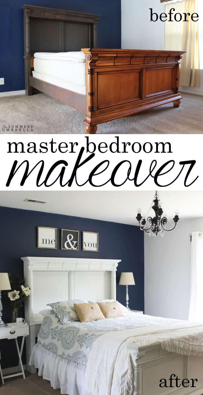 master bedroom makeover the summery umbrella