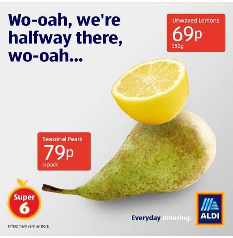 Aldi Reclame People Are Loving This Clever Aldi Ad But Do You Get The Joke