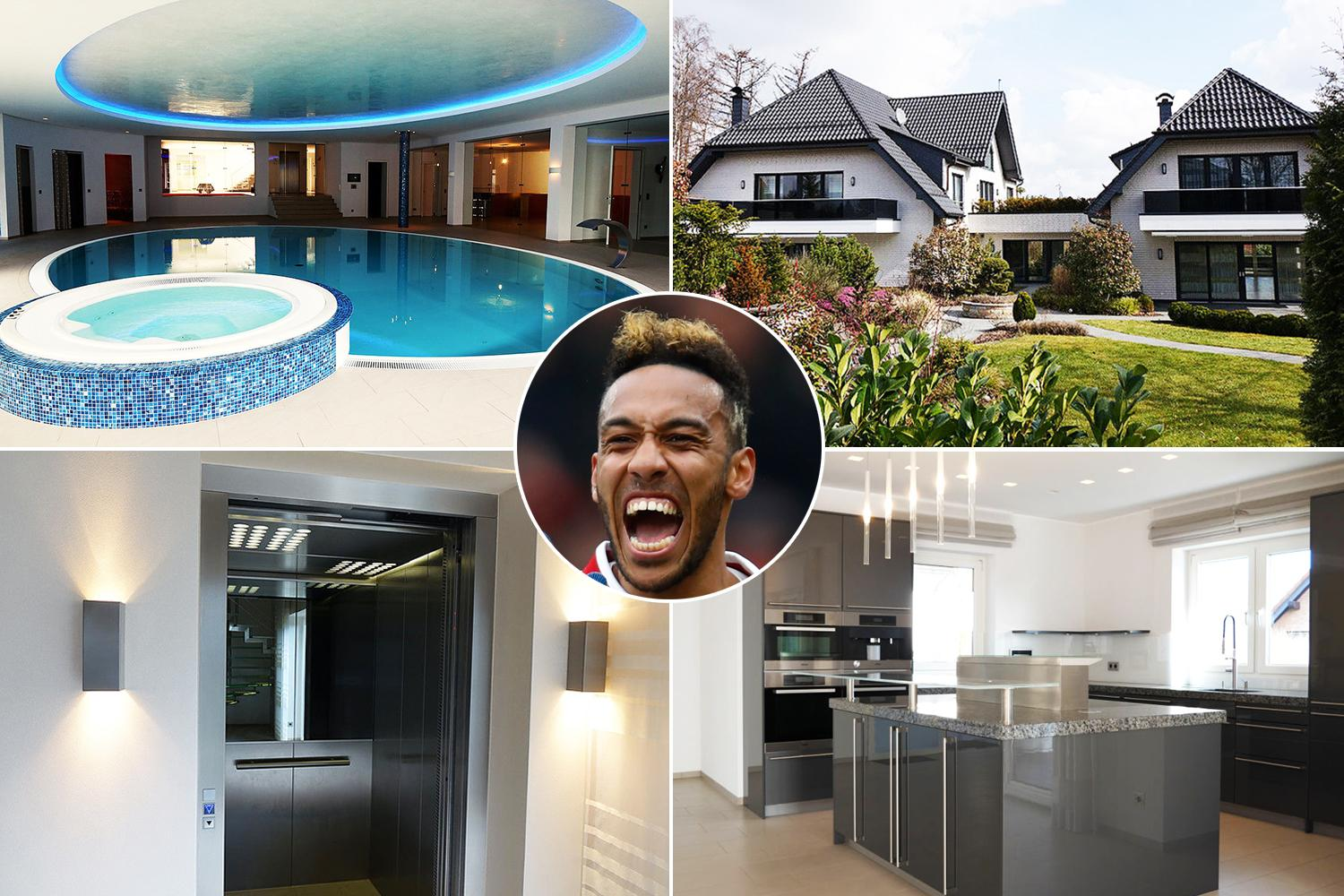 Escape Room Dortmund Inside Arsenal Star Pierre Emerick Aubameyang S 3 5million