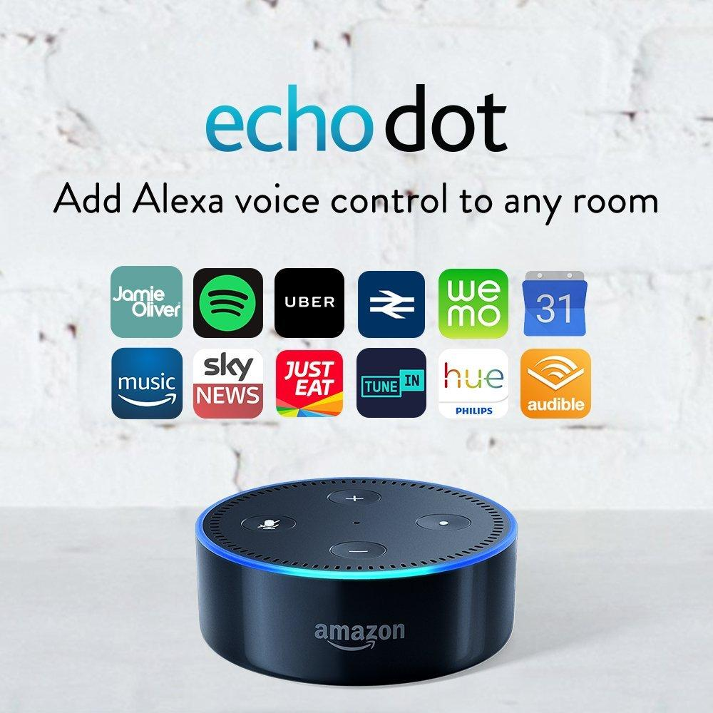 Alexa Dot Amazon Prime Day 2018 Deals Amazon Echo Dot Smart Speaker Down