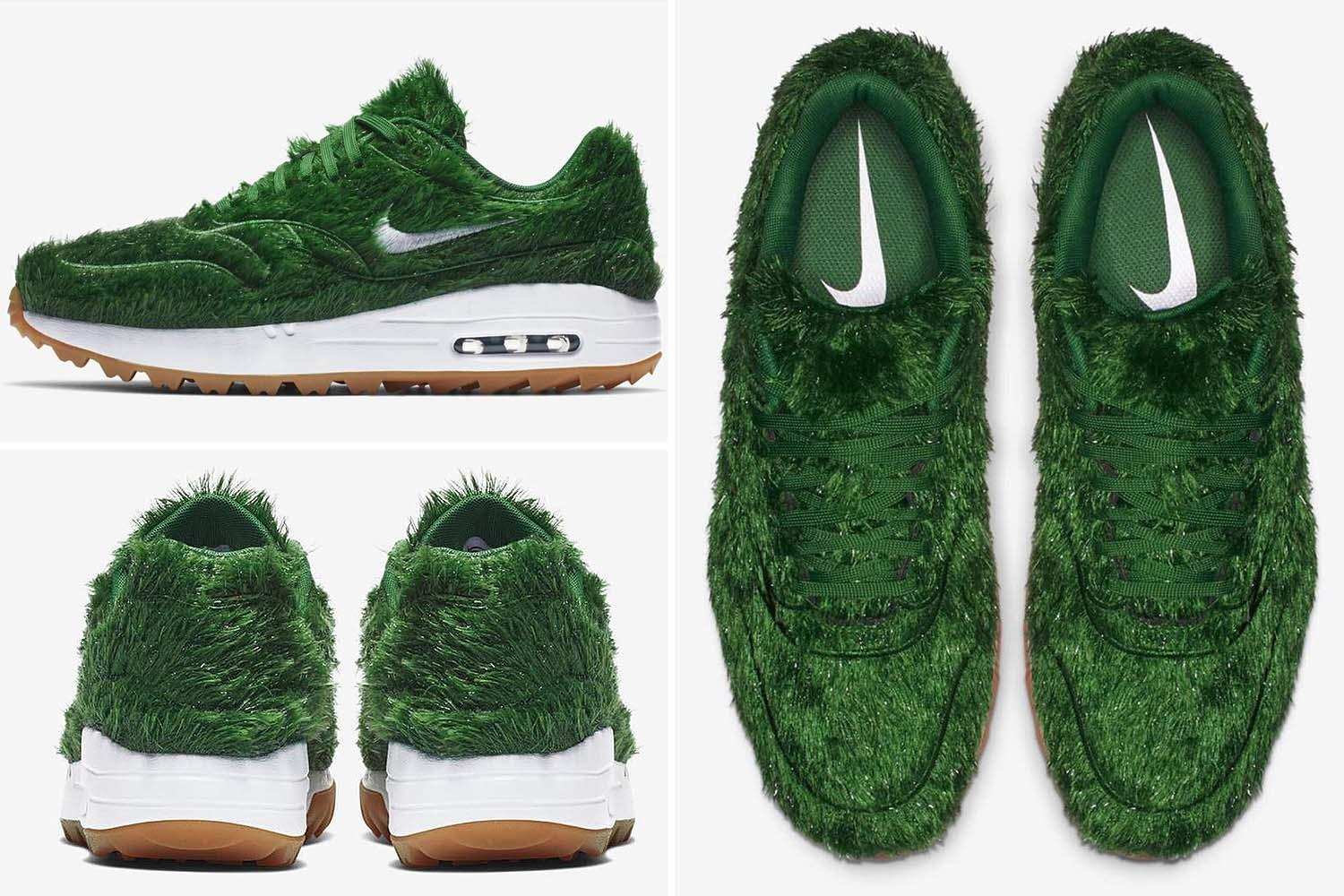 Buy Fake Grass Nike To Launch Air Max Trainers Made Of Fake Grass That Will Cost 110