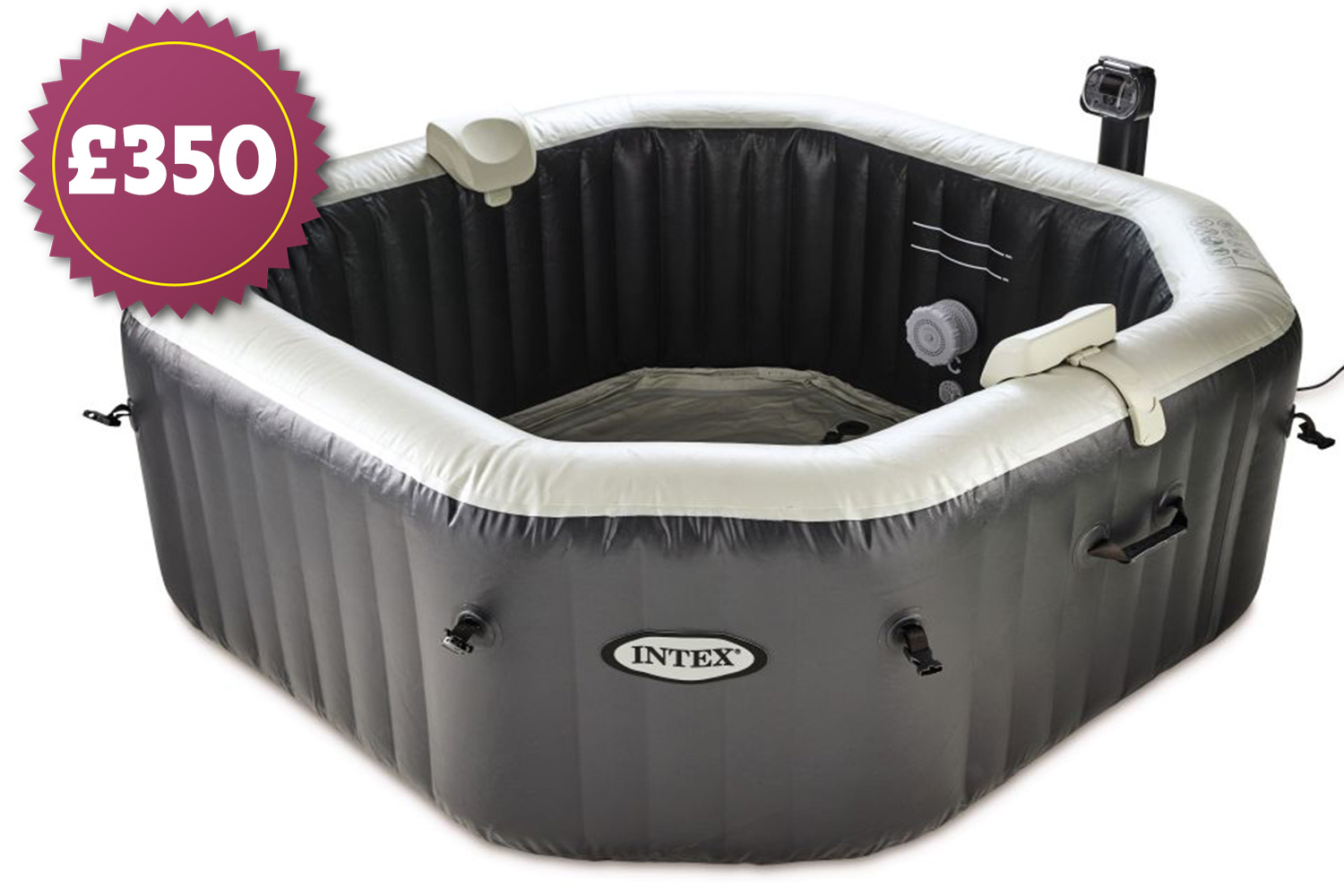 Jacuzzi Pool Top Caps Aldi S Sell Out 350 Inflatable Hot Tub Is Back This Weekend