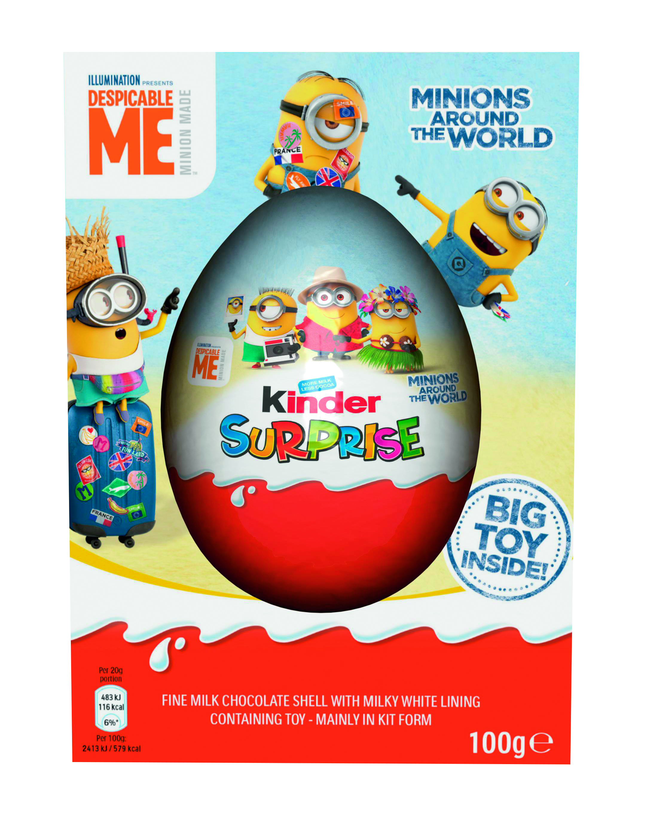 Kinder Maxi Big Pack You Can Now Buy Giant Kinder Surprise Eggs With Powerpuff