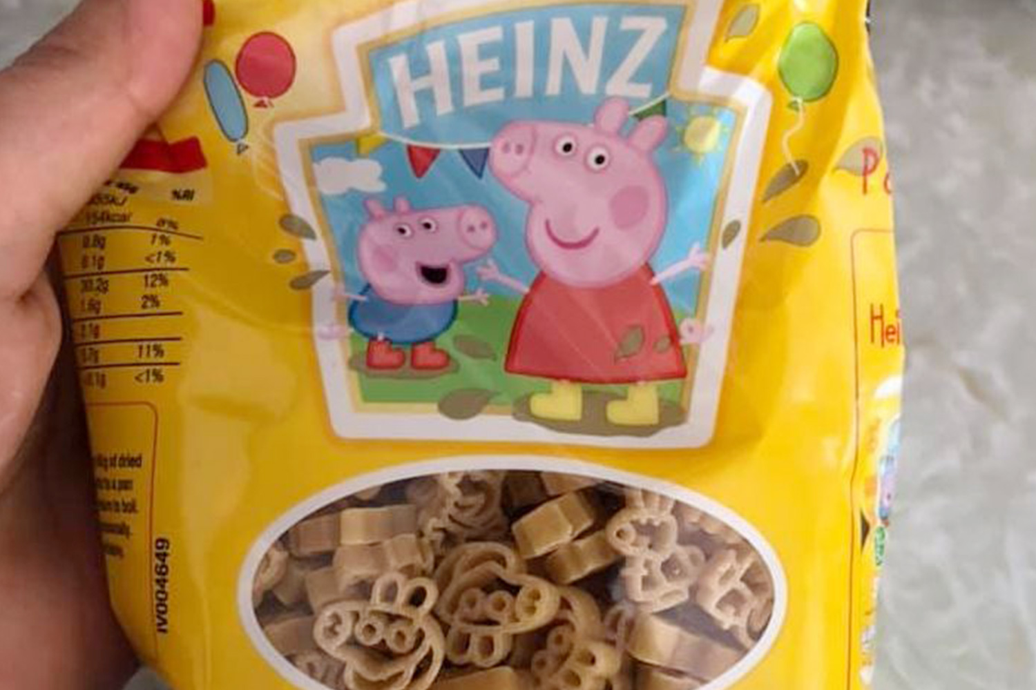Pasta Aldi Aldi Is Selling Cute Peppa Pig Pasta Shapes For 99p A Bag And
