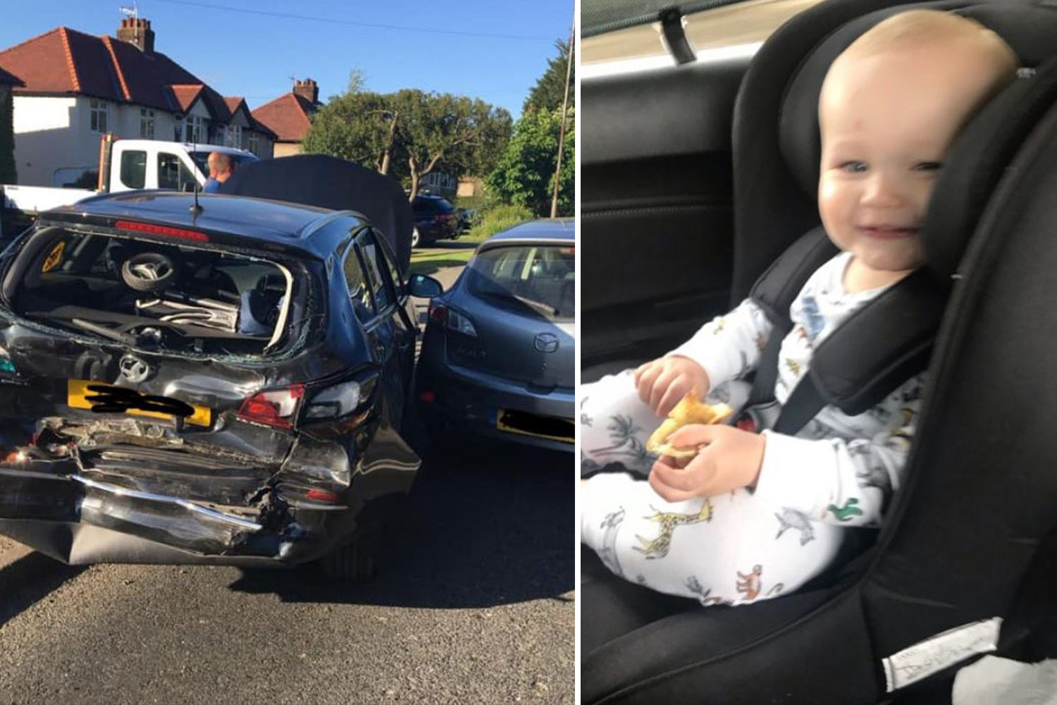 Baby Car Seat Uk Mum S Chilling Car Seat Warning After Toddler Could Have