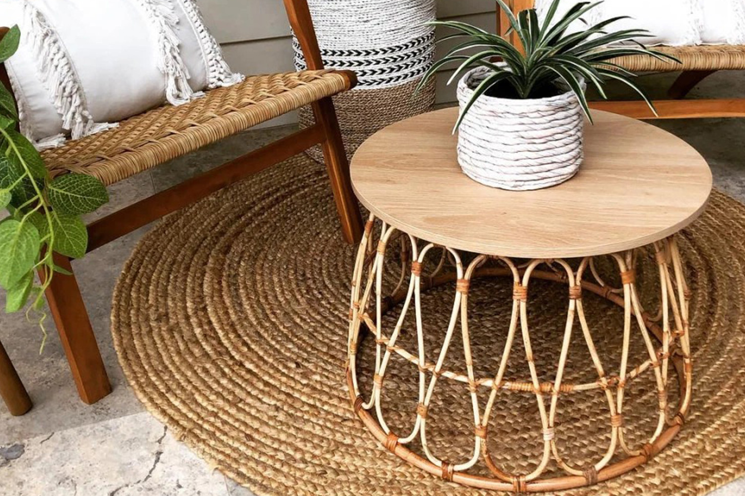Rattan Ikea Mum Uses An Upside Down 25 Ikea Laundry Basket To Create A