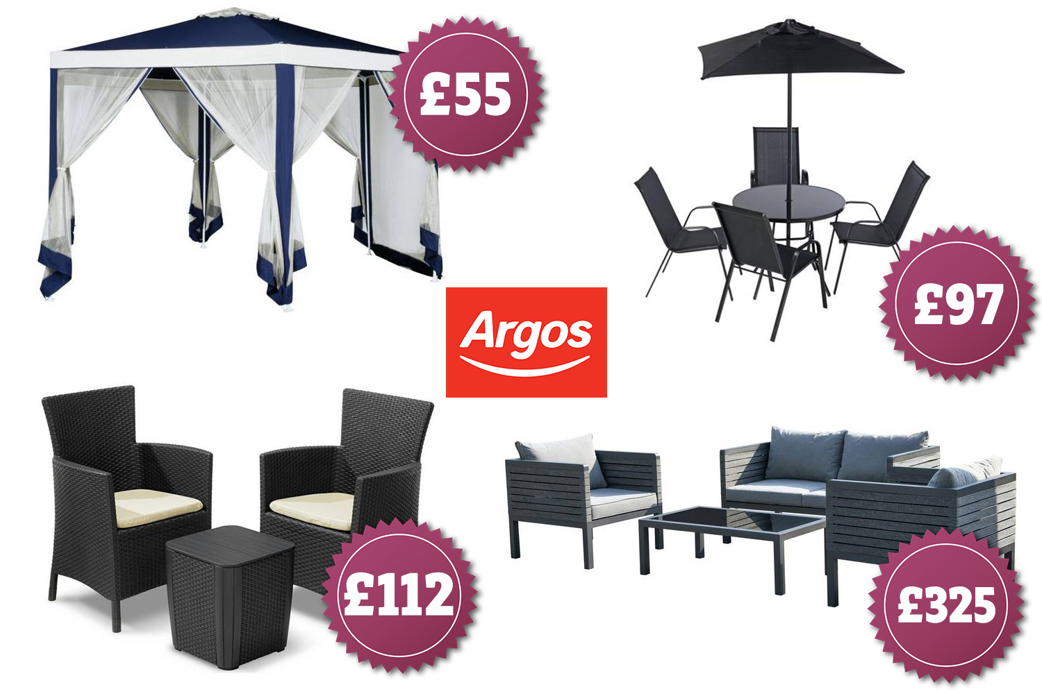 Argos Has A Huge Sale On Garden Furniture Including Sofa Sets Gazebos And Sun Loungers - Garden Furniture Clearance Argos