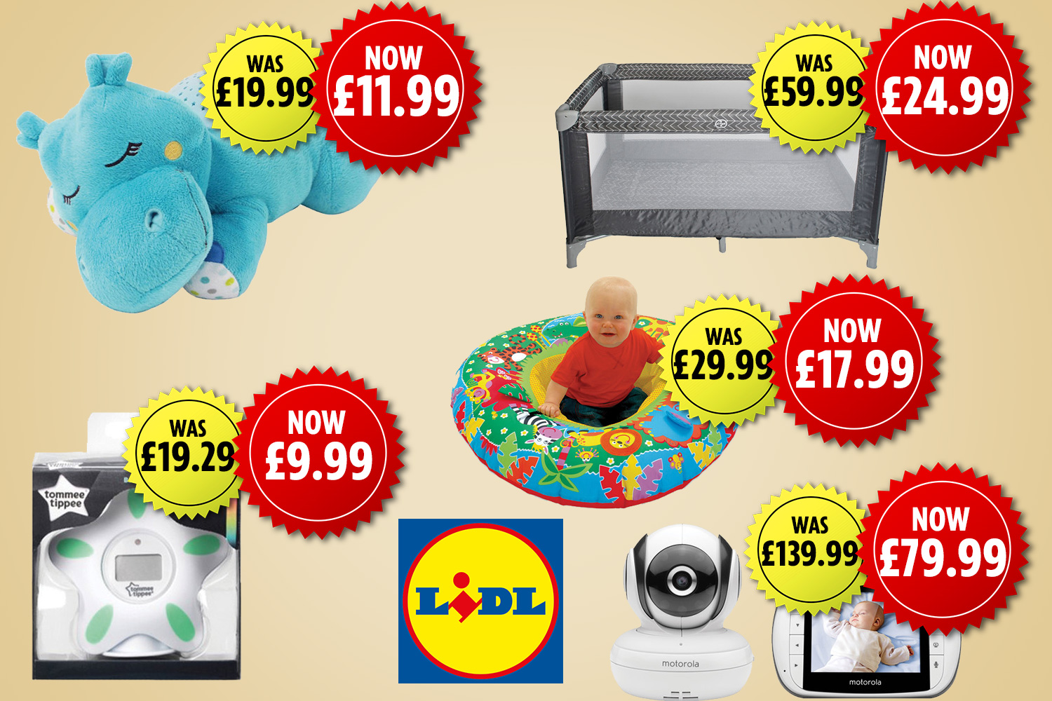 Baby Prams For Sale Uk Lidl Launches Baby Sale With Up To 60 Off Prams Cots And