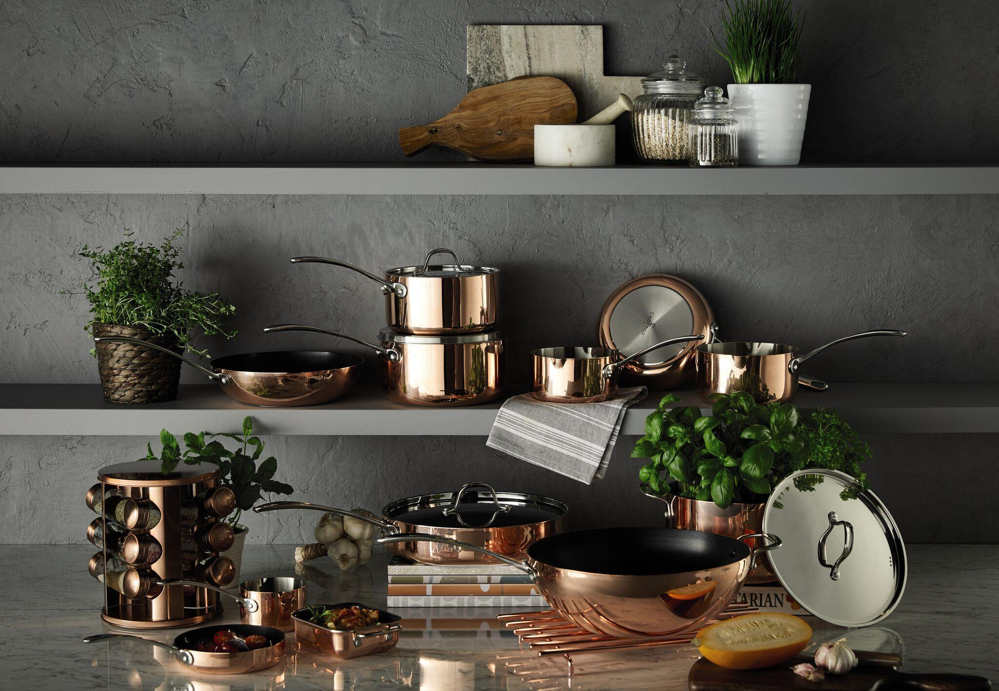 Aldi Saucepans Aldi Ireland Announces Return Of Popular Copper Kitchen Collection
