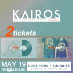 Win a prize pack, including vinyl and tickets, from KAIROS and Fin Records