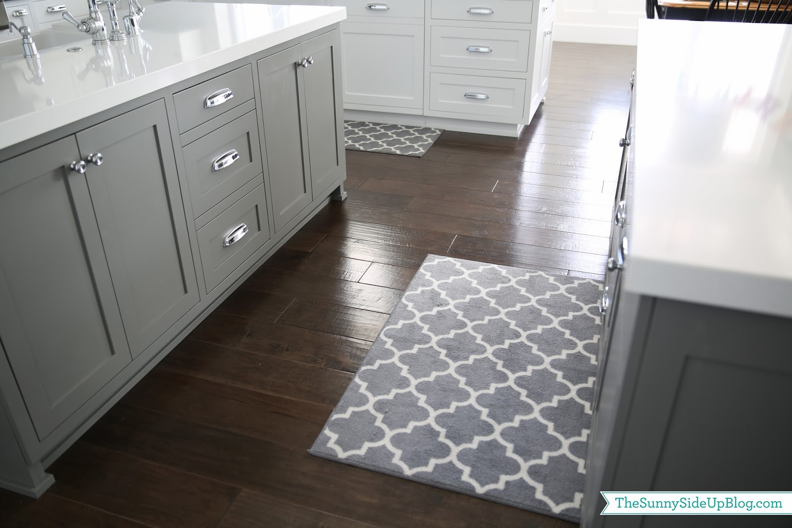 Target Kitchen Island White Priorities And New Kitchen Rugs - The Sunny Side Up Blog
