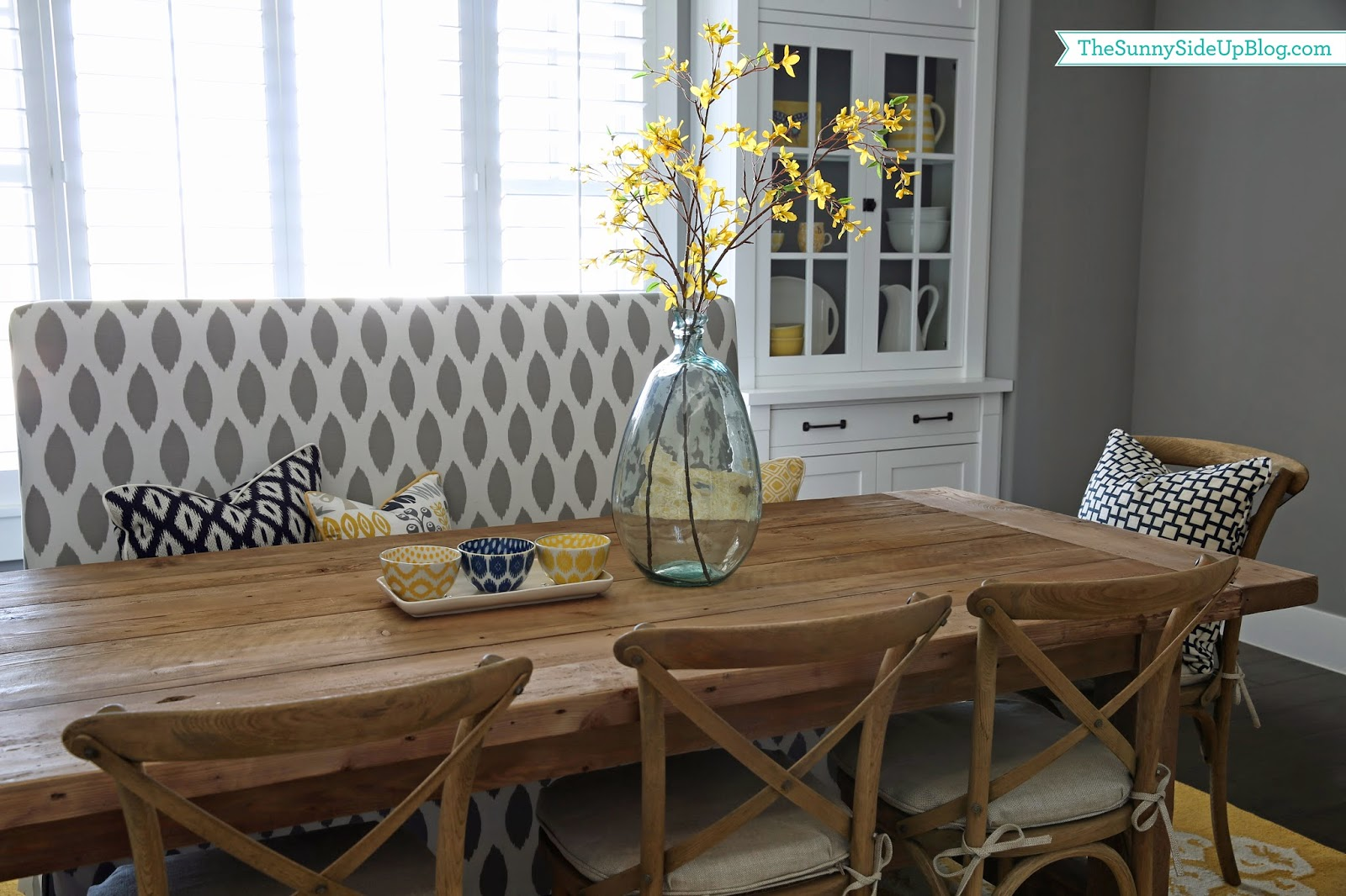 Dining Table Decor Ideas Summer Dining Table Decor The Sunny Side Up Blog
