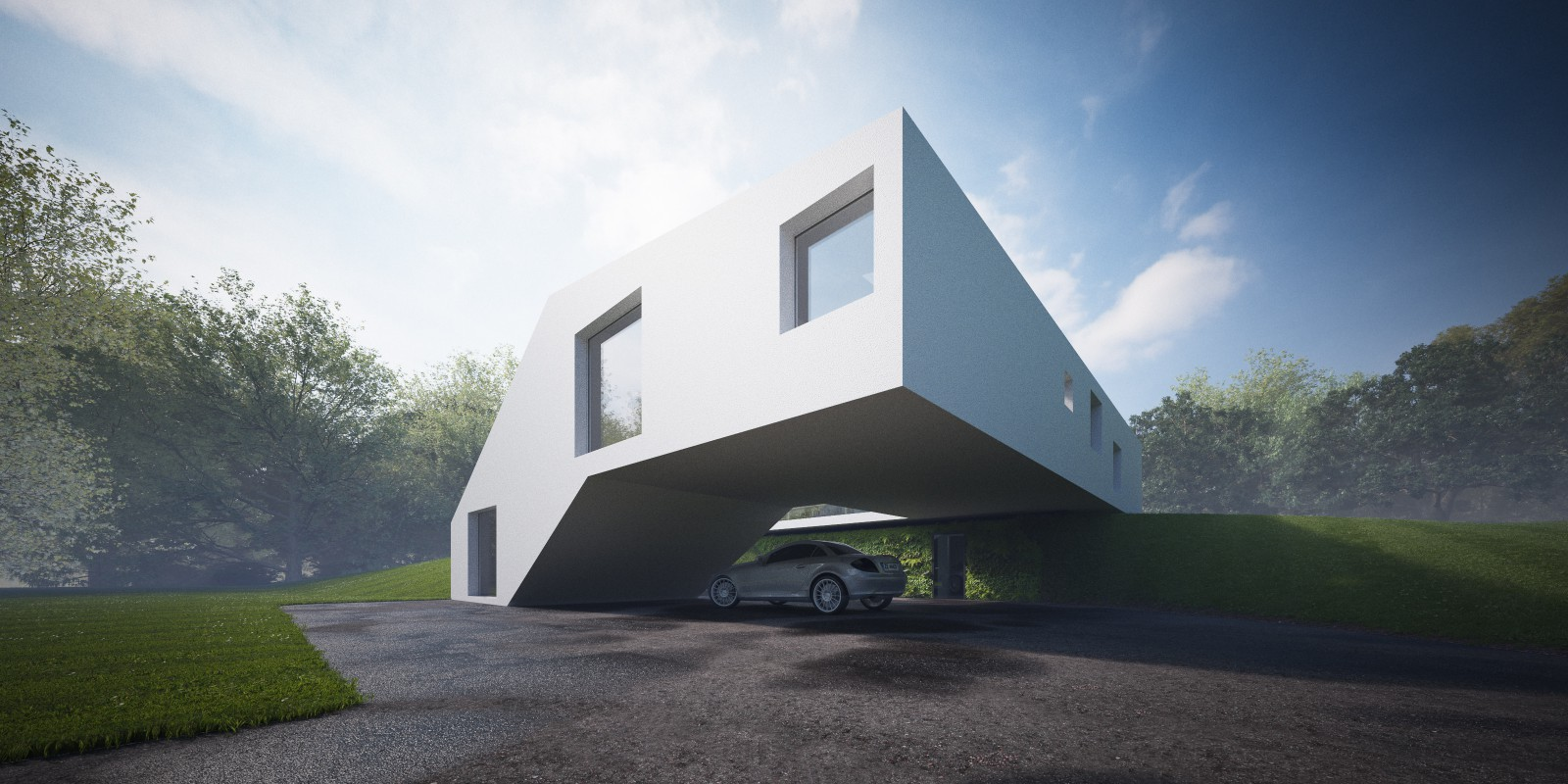 House Hafner Hornung And Jacobi Architecture The Superslice
