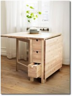Folding Dining Room Table With Storage